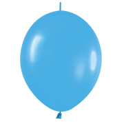 Betallic Link-O-Loon Easy Tie 30cm Latex Balloons, Blue, 50 CT