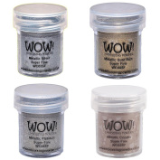 Wow! Embossing Powder Super Fine Metallic Bundle