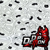 Paisley Pig Farm Animal Hydrographic Water Transfer Film Hydro Dipping Dip Demon