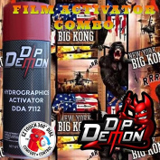 Combo Kit King Kong Monkey Ape Gorilla Hydrographic Water Transfer Film Activator Combo Kit Hydro Dipping Dip Demon