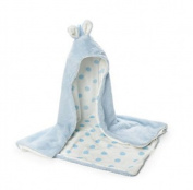 Bunny Bay The Bay Bunny Hooded Blanket -Blue
