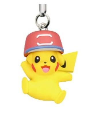 Pokemon Movie 20th Netsuke Figure Mobile Phone Charm~Ash's Pikachu #6 …