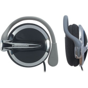 Panasonic RP-HS43 Clip-On Headphones with XBS Extra Bass System (Black)