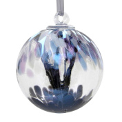 Winter 10cm Glass Friendship Ball