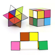Star Magic Cube Infinite Yoshimoto Cube - 3D Puzzle Toys for Teens Adults
