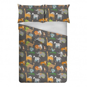 Ready Steady Bed® Africa Design Children's Double Size Duvet Cover Set
