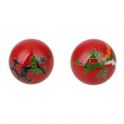 MSmask Natural Chinese Cloisonne Health Exercise Stress Balls