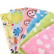 TRIEtree Soft Microfiber Baby Newborn Washcloth Infant Bath Feeding Wipe Cloth Baby Face Towe