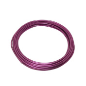 LeGold Aluminium Craft Wire Pink Colour 12 Gauge 5.5m