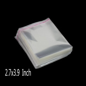 6.9cm x 9.9cm Clear Self Adhesive Sealing Plastic Bags Transparent Opp Bag Packing Bags Pack of 200