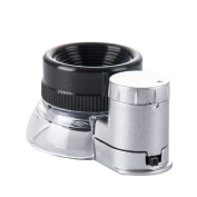 Mydio 20X Jewellers Loupe Magnifier With Bright Light,Best for Jewellery, Diamonds, Gems, Coins