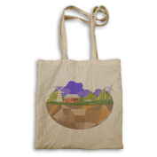 New Ecoclogy Green House Tote bag m500r