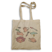New Witch Set Hand Drawn Spell Tote bag m549r
