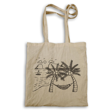 New Coconut Holiday Sea Tote bag m374r