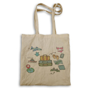 New Adventure Travel The World Tote bag l695r