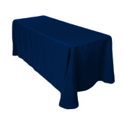 Craft and Party 230cm X 340cm Rectangular Polyester Table Cloth