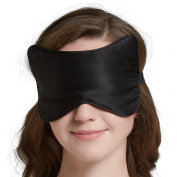 SLIPING Unique Cat Face Natural Silk Sleep Mask & Blindfold,Lightweight,Super-Smooth and Super-Soft Deep Sleeping Aid Eye Mask for Night,Nap,Travel,Yoga,Adjustable Strap for Men,Women or Kids