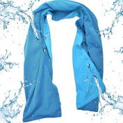 Acacia Sports Ice Cooling Towel UV Protection for Yoga and Outdoor Activites