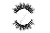 Lustylicious 100% 3D Mink Eyelashes by Lashylicious Natural Fluffy With Super Felxible Band and Useable 20+ times - Glamorous Fake lashes Extensions