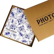 LANNA SHOP- Retro Fashion Photo Album,Anniversary Scrapbook DIY Album,Exquisite Wedding Memo Photos Album