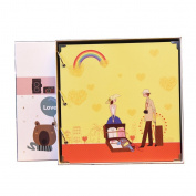 LANNA SHOP- Cartoon Photo Album,Anniversary Scrapbook DIY Album,Wedding Memo Photos Album