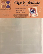 Paper Reflections Slip-On Page Protectors 3-Pack- Designed to Work with 10cm x 13cm Memory Book- 3 Packs of 10 Sheets