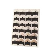 Sticker Angle, ZTY66 Vintage Corner Kraft Paper Sticker for DIY Photo Albums Decoration Scrapbooking