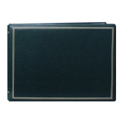 Pioneer Photo Albums Pioneer Postbound Deluxe Boxed Hunter Green Leatherette Magnetic Album
