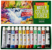 Camel Student Water Colour Tube - 5Ml Each, 12 Shades