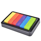 NEW Gradient Oil Based Ink pad Signet For Paper Wood Craft Rubber Stamp Colour Gorgeous