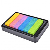 NEW Gradient Oil Based Ink pad Signet For Paper Wood Craft Rubber Stamp Colour Dense Fog