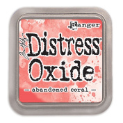 Ranger Tim Holtz Distress Oxide Ink Pad - Abandoned Coral