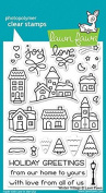 Lawn Fawn Clear Stamp Set - Winter Village