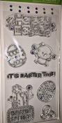 Hampton Art Happy Easter Gem Set Clear Stamps