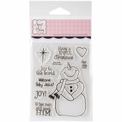 Sweet N Sassy Stamps SNS10052 7.6cm x 10cm . Clear Stamps - Welcome Jesus