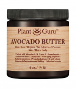Avocado Body Butter 120ml 100% Pure Raw Fresh Natural Cold Pressed. Skin, Hair, Nail Moisturiser, DIY Creams, Balms, Lotions, Soaps.