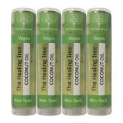 Coconut Oil Lip Balm   Vegan   Non-Toxic   100% Natural