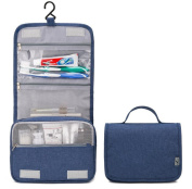 BININBOX Closet Storage Organiser Foldable Containers Collapsible Cosmetic Hanging Toiletry Travel Make Up Bag Net