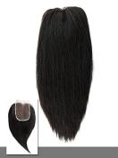 Indique Virgin Hair Extensions Indique Pressed Straight Closure 36cm