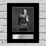Chester Bennington Signed Mounted Photo Display Linkin Park