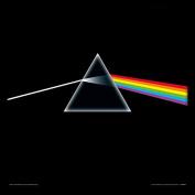 "Pink Floyd ""Dark Side Of The Moon"" Album Cover Framed Print, Multi-Colour, 30cm"
