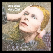 "David Bowie ""Hunky Dory"" Album Cover Framed Print, Multi-Colour, 30cm"