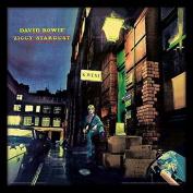 """David Bowie """"Ziggy Stardust"""" Album Cover Framed Print, Multi-Colour, 30cm"""
