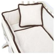 BabyDoll The MOD Cradle Bedding Set, Chocolate