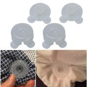 Sinfu 4PC Leaf Holders Blankets Bed Duvet Donuts Tweezers Clam Forceps Clip