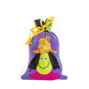 Sinfu Storage Bag Halloween Witches Candy Bag Packaging Children Gift