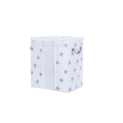 Sinfu Storage Bag Pouches Canvas Clothes Basket Folding Storage Box