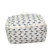 Sinfu Storage Bag Blanket Sweater Organiser Foldable Box Pouches