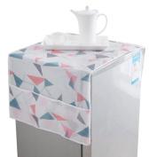 Sinfu Storage Bag Fridge Print Dust Proof Cover Refrigerator Muti-use Pouch