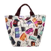 Sinfu Lunch Bags Portable Waterproof Canvas Package